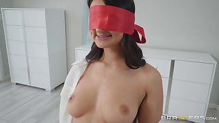 after the tit job Eliza Ibarra can't wait to eat friend's hard penis