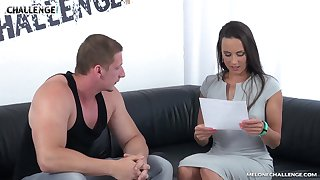 Clamminess couch fuck with really versatile Czech old bag Mea Melone