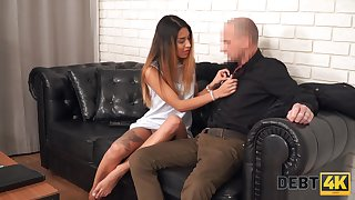 Behaving bad tattooed tanned nympho Roxy Lips gets punished with fast fuck
